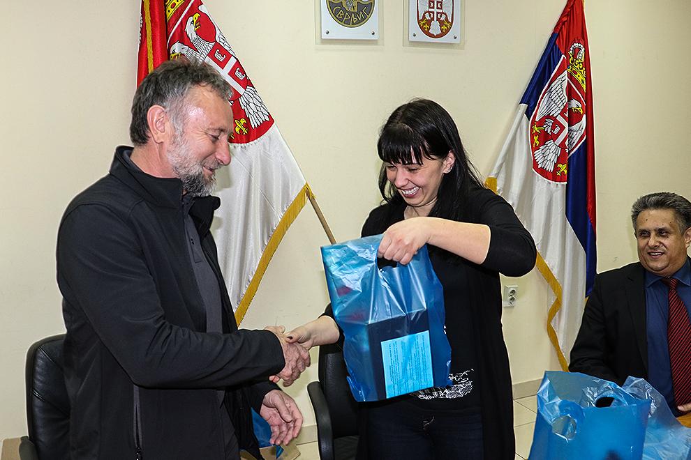 Председница уручила поклон жупану општине Шентјернеј